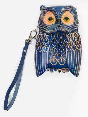 Брелок-ключниця синій | 5340532