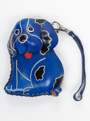 Брелок-ключниця синій | 5340539