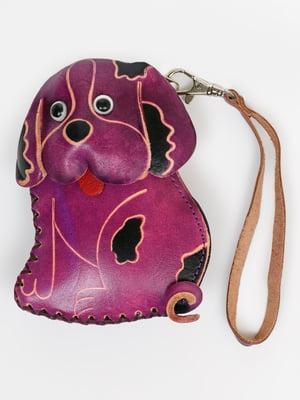 Брелок-ключниця фіолетовий | 5340536