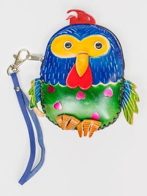 Брелок-ключница синий | 5340543