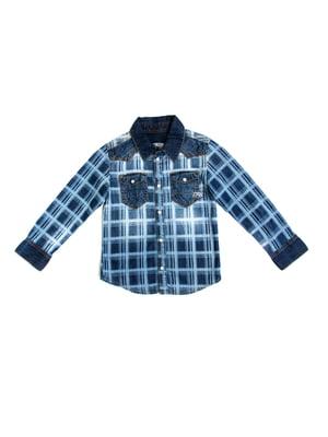 Рубашка голубая | 5339662