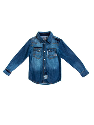 Рубашка голубая | 5339665