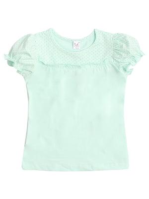 Блуза бирюзовая | 5341700