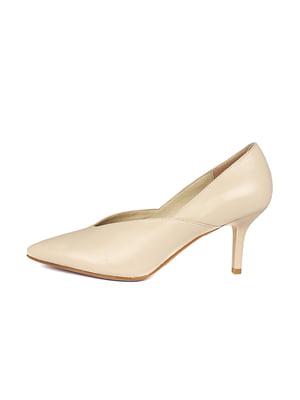 Туфли бежевые | 5341925