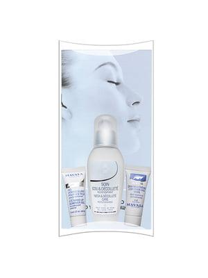 Набор «Деликатный уход»: средство по уходу за зоной декольте (30 мл), крем для кожи вокруг глаз (4 мл) и гель для нежного удаления макияжа (5 мл) | 5342015