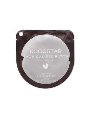 Патчі для очей гідрогелеві «Кокос» (1 пара) | 5342405