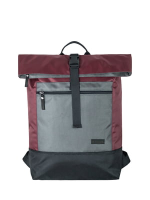 Рюкзак городской бордовый | 5343201