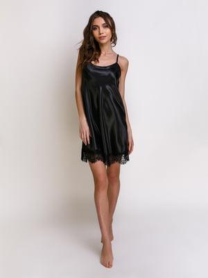 Ночная рубашка черная | 5341651
