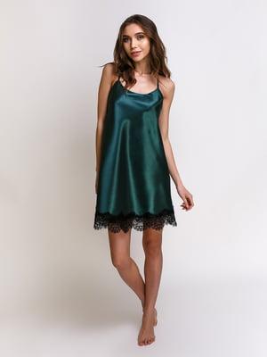 Нічна сорочка смарагдового кольору | 5341649