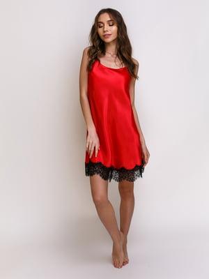 Ночная рубашка красная | 5341652