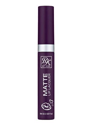 Матовий лак для губ Crème Matte Lip Lacquer Queen — Королева (9 мл) | 5342294