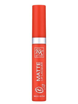 Матовий лак для губ Crush Matte Lip Lacquer Crush - фруктовий сік (9 мл) | 5342297