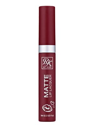 Матовий лак для губ Ruby Matte Lip Lacquer ruby — рубіновий (9 мл) | 5342300