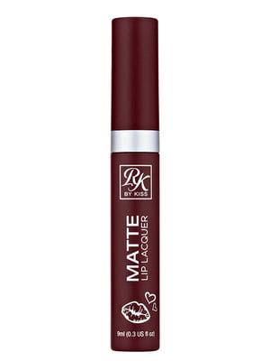 Матовий лак для губ Rosy Matte Lip Lacquer pink — рожевий (9 мл) | 5342301