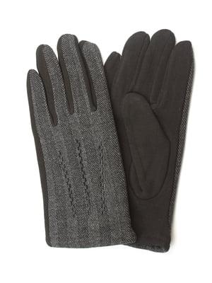 Перчатки черные утепленные | 5343377
