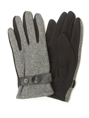 Перчатки черные утепленные | 5343378