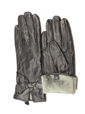 Перчатки черные утепленные | 5343435