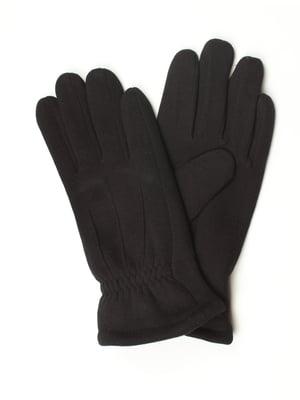 Перчатки черные утепленные | 5343441