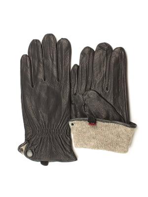 Перчатки черные утепленные | 5343444