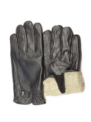Перчатки черные утепленные | 5343447