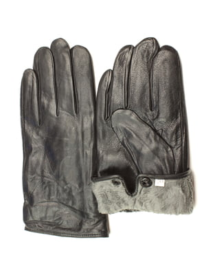 Перчатки черные утепленные | 5343448