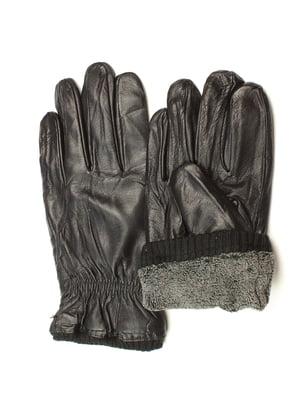 Перчатки черные утепленные | 5343449