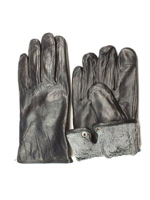 Перчатки черные утепленные | 5343450