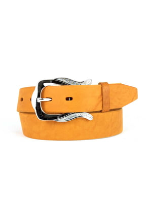 Ремень морковного цвета | 5344031
