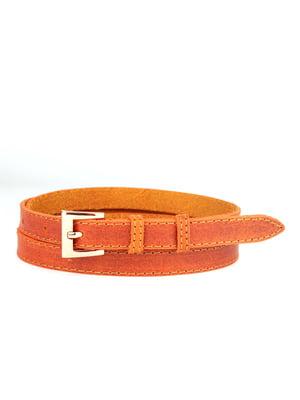 Ремень оранжевый | 5344122