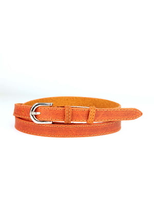 Ремень оранжевый | 5344124