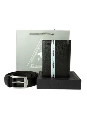 Набір подарунковий: обкладинка для документів і ремінь | 5344189