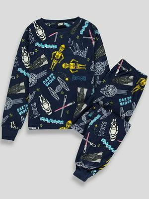 Пижама флисовая: свитшот и брюки | 5344368