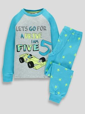 Пижама: свитшот и брюки | 5344369