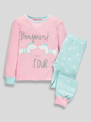 Пижама: свитшот и брюки | 5344371