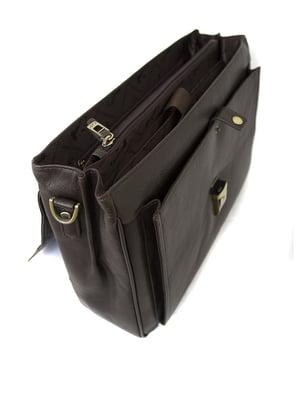 Портфель коричневий | 5344281
