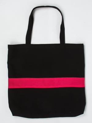 Сумка черно-розовая | 5321159