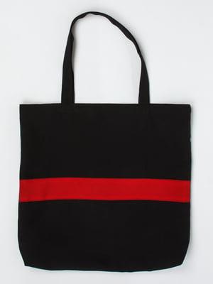 Сумка черно-красная | 5321162