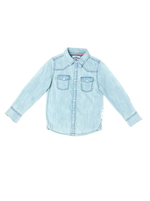 Рубашка светло-голубого цвета | 5339668