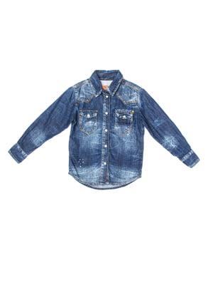 Рубашка синяя | 5339676