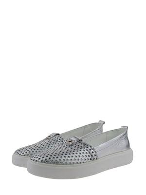 Мокасини сріблясті | 5345410