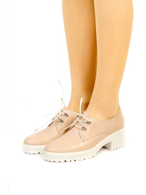 Туфли цвета пудры | 5345588