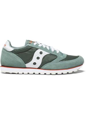 Кросівки зелено-білі   5345640