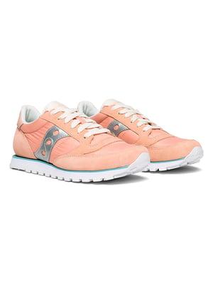 Кросівки персиково-сріблястого кольору | 5345641