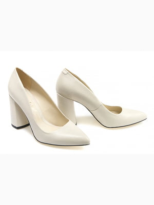 Туфлі бежеві | 5345658
