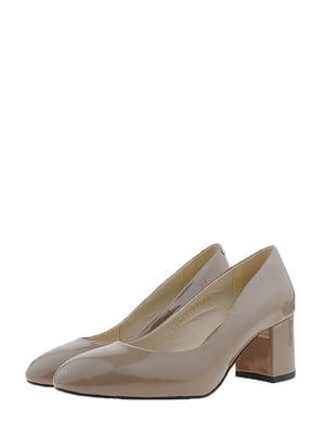 Туфлі бежеві | 5345660