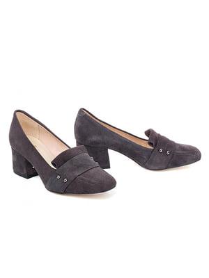 Туфли серые   5345684