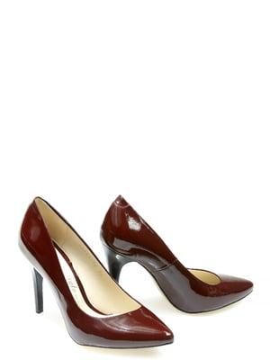 Туфлі бордові | 5345687