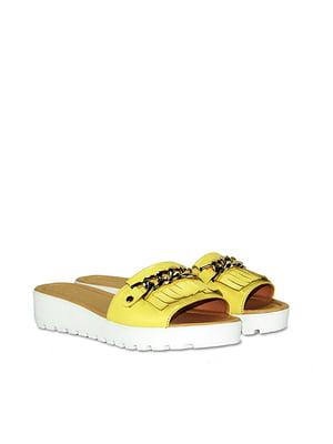 Шлепанцы желтые | 5345691