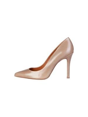 Туфлі кавового кольору   5345737