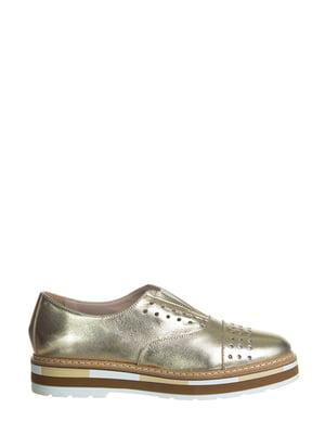Туфли золотистые | 5345740